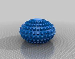 Sphere Vase 4 3D Model
