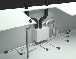 Ventilation Unit 3D model