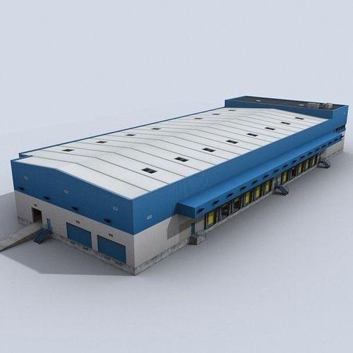 modular logistics building 1 3d model low-poly max obj 3ds fbx c4d lwo lw lws 1