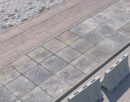 3D model pavement