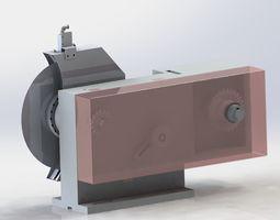 Rotary cutting mechanism 3D