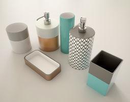 Bathroom Accessoirs 3D