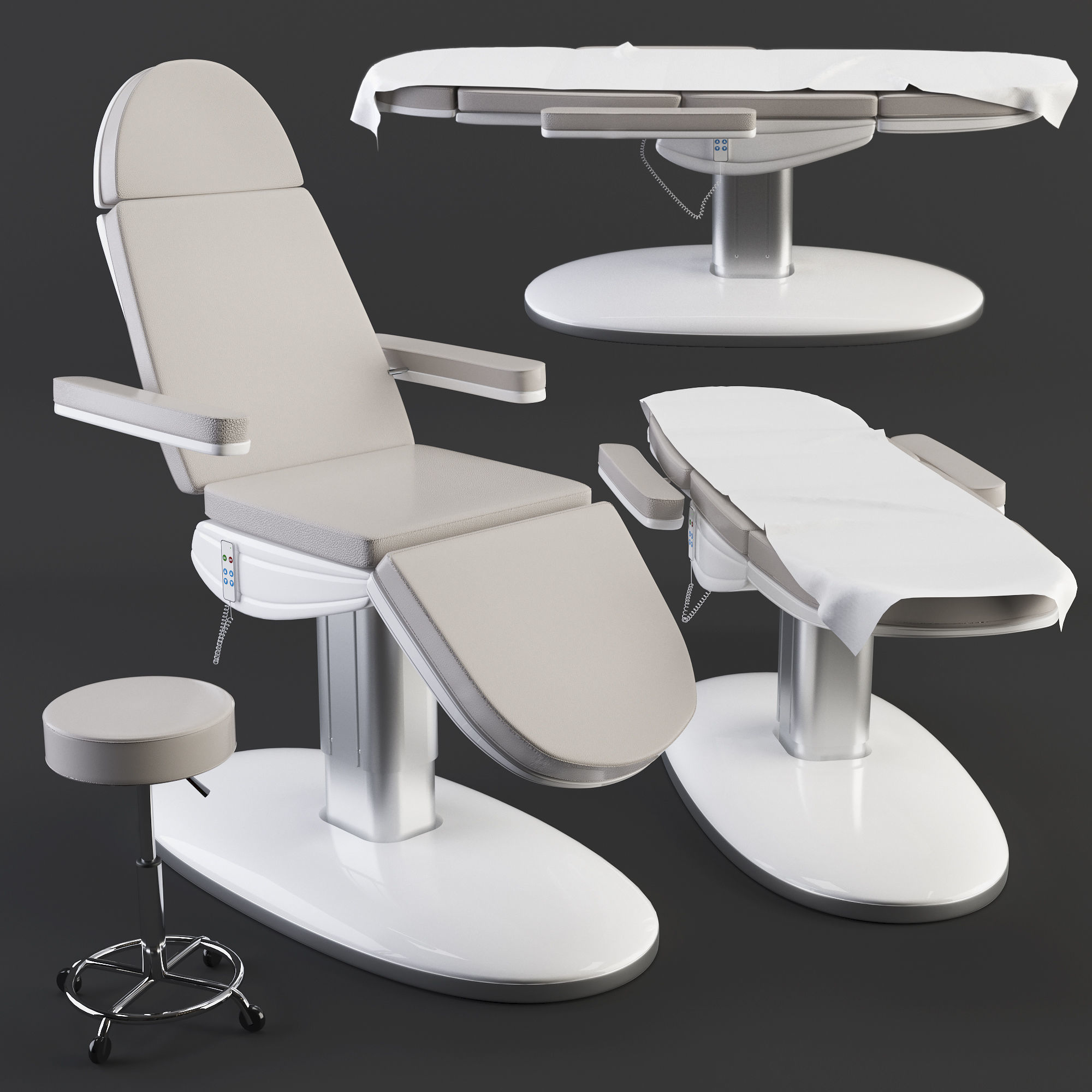Treatment care table