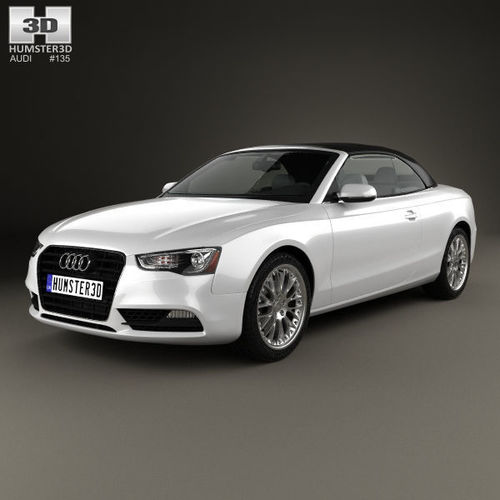 3d Audi A5 Cabriolet With Hq Interior 2012 Cgtrader