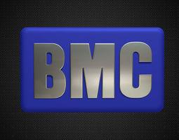 3D high bmc logo