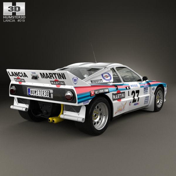 Lancia Rally 037 WRC Group B 1983 3D model | CGTrader