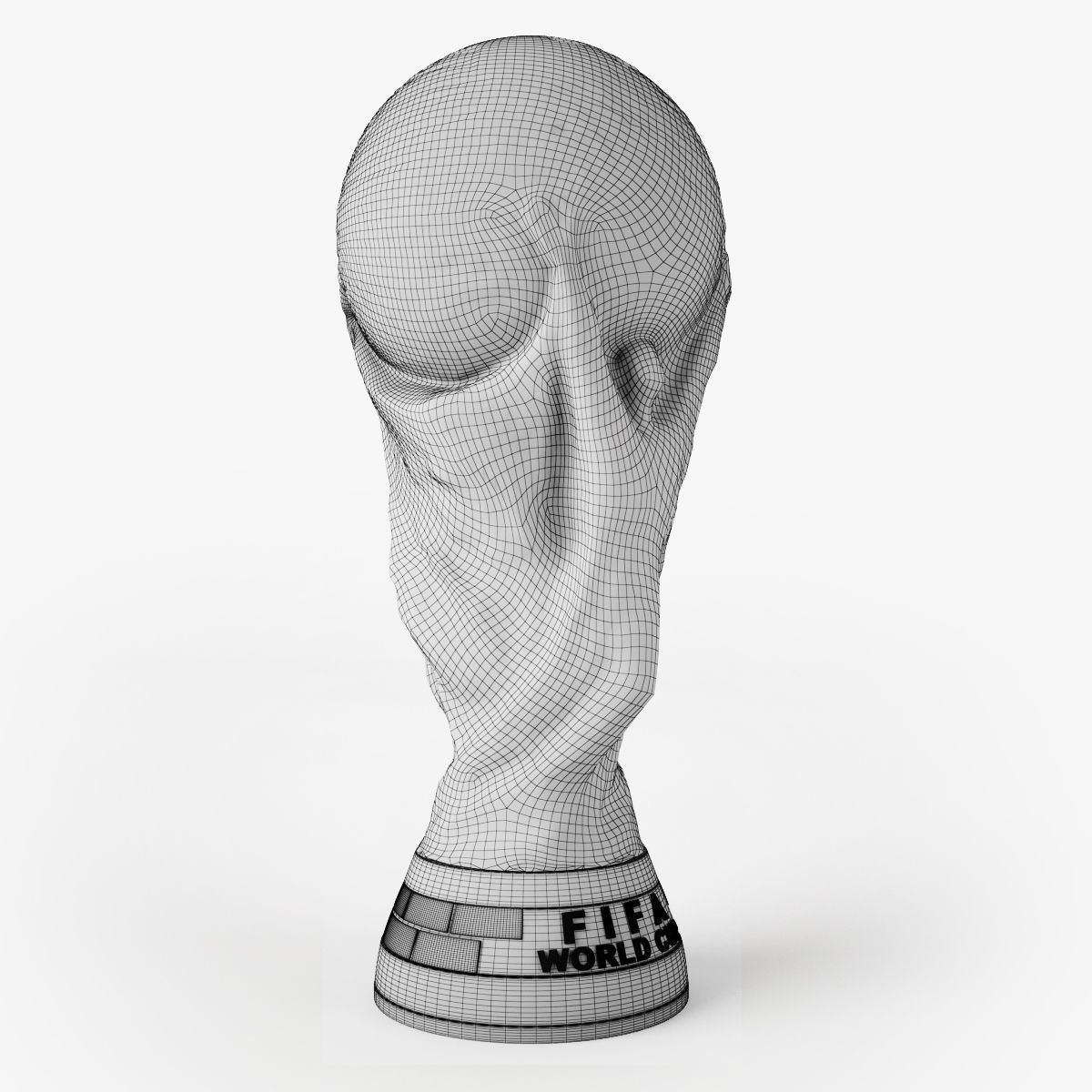 Equipment 3d Model Fifa World Cup Trophy Cgtrader