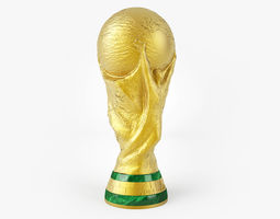 equipment 3D model FIFA World Cup Trophy