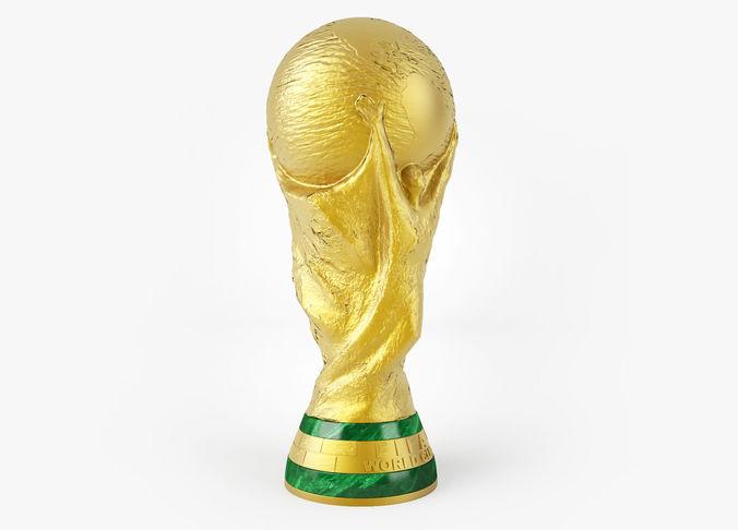 51d9ec467fb equipment 3D model FIFA World Cup Trophy | CGTrader