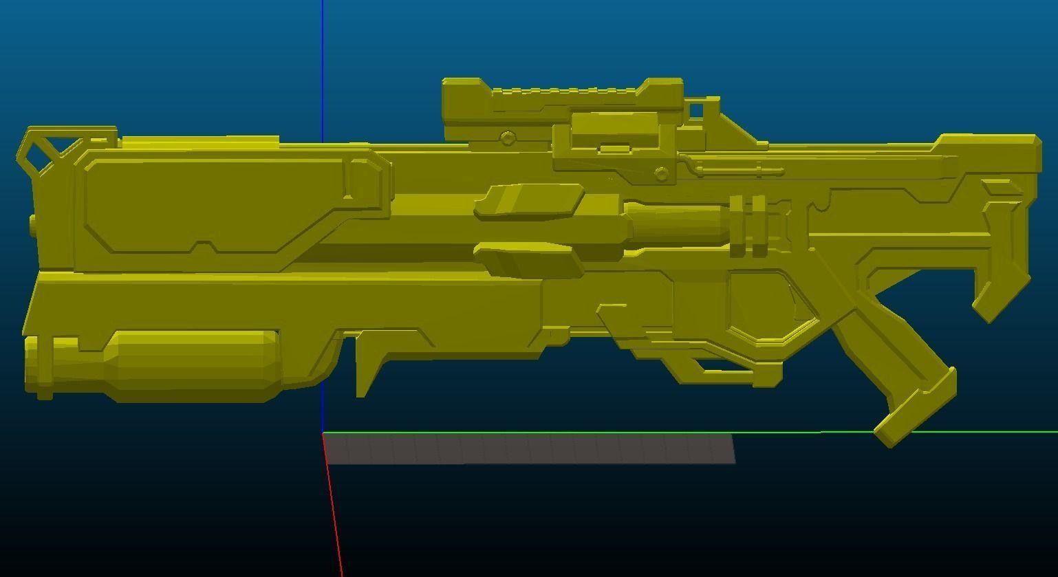 Soldier 76 Strike Commander Morrison Rifle Printable