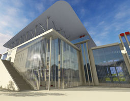 3D St Niarchos Foundation Cultural Center by Renzo Piano