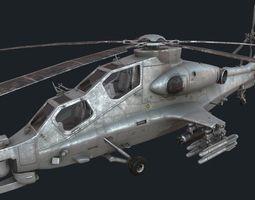CAIC WZ-10 3D asset