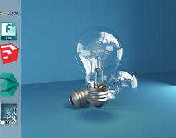 3D Light Bulb lantern