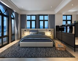 VCTT Boy Bedroom 3D model