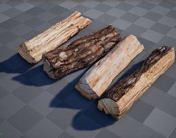 firewood 3D model