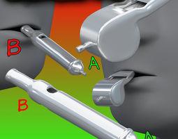 Whistles FBXOBJ 3D model