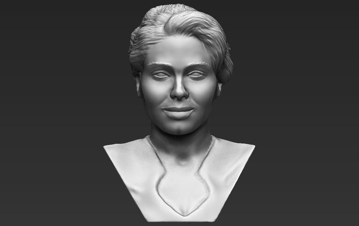 Adele bust 3D printing ready stl obj formats