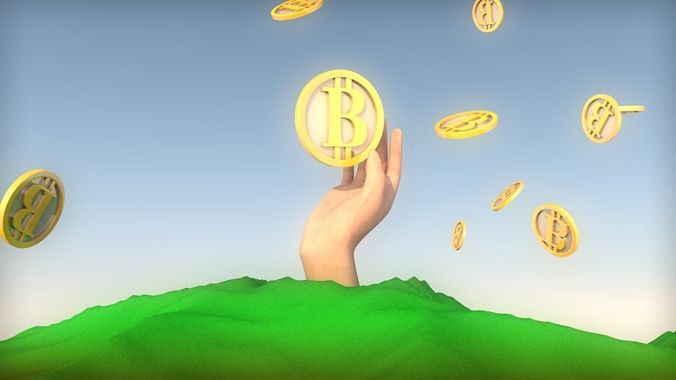 hand-grabbing-a-bitcoin-3d-model-low-pol