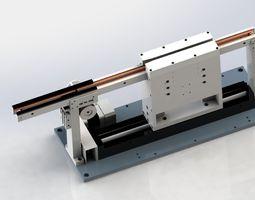 Belt conveyor and Sending Unit 3D model