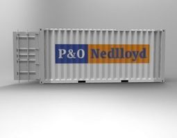 3d printable model 20ft container