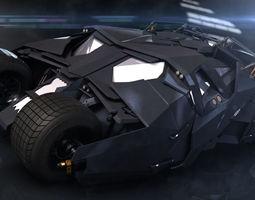 Dark Knight Batmobile 3D