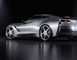 Corvette C7 Stingray 3D Model