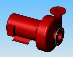 3d model patterson pumps - multiple configurations
