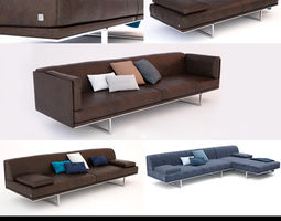 Busnelli Blumun Sofa Set 3D Model