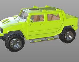 Hummer H2 SUT 3D