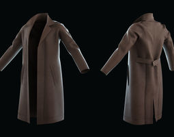 3D model Cloth set for Marvelous Designer