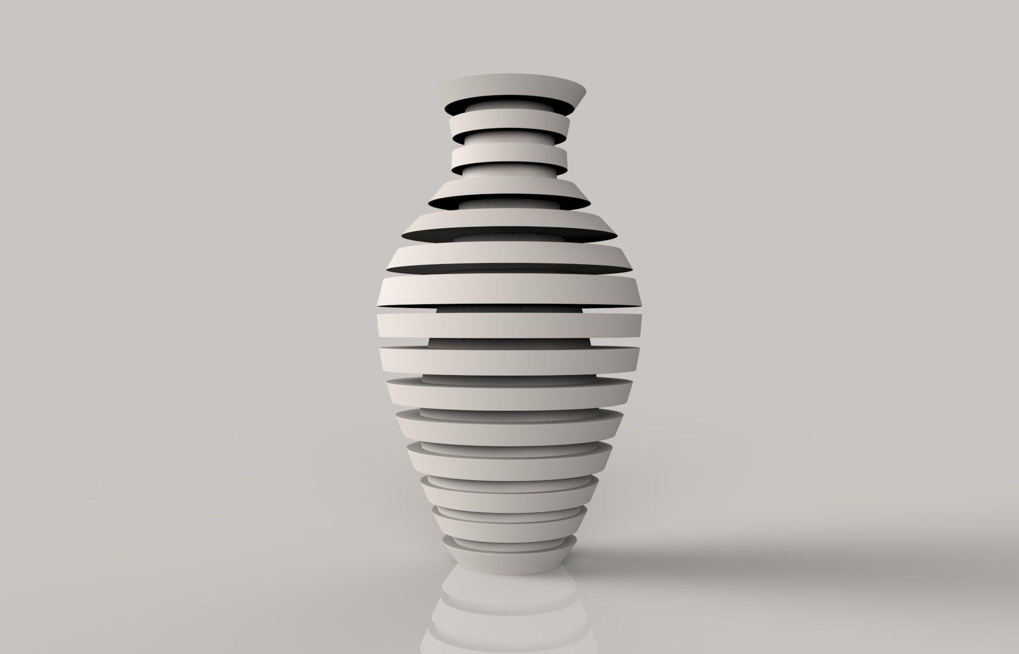 3d print model long flower vase cgtrader long flower vase 3d model stl 2 reviewsmspy