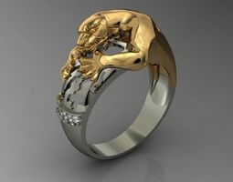 panthera ring 3D print model