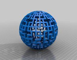 Cubical Sphere 3D Model