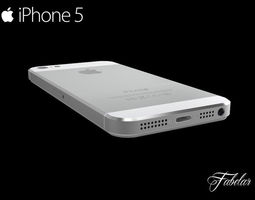 iphone 5 free 3d model max obj 3ds fbx c4d dae