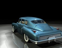 Tucker 48 3D Model