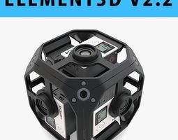 E3D - GoPro Omni Sync Rig 360 Camera Spherical