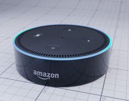 echo Amazon Echo Dot 3D model