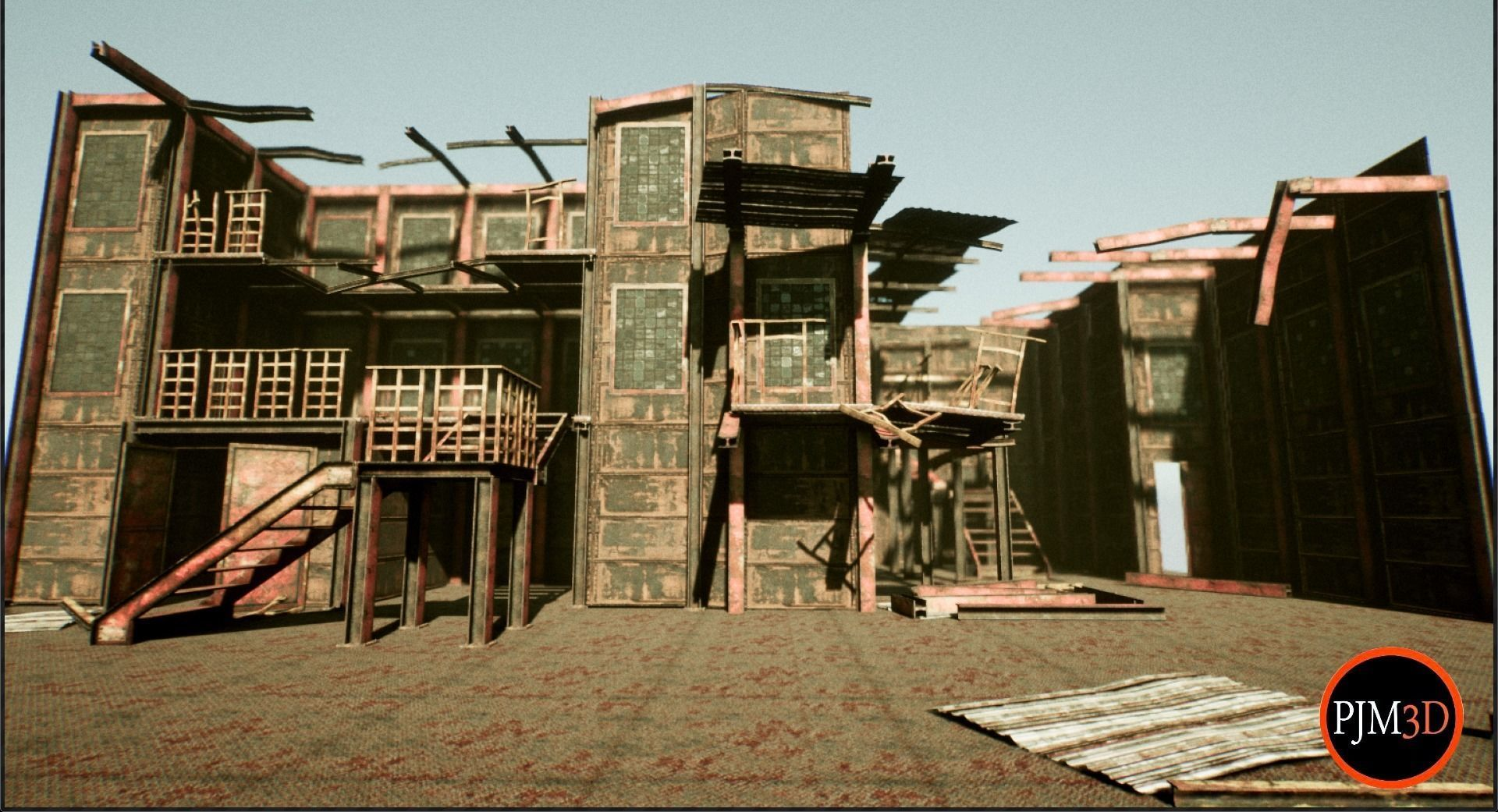 UE4 Old Factory Modular Package