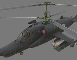 Kamov Ka-50 3D model