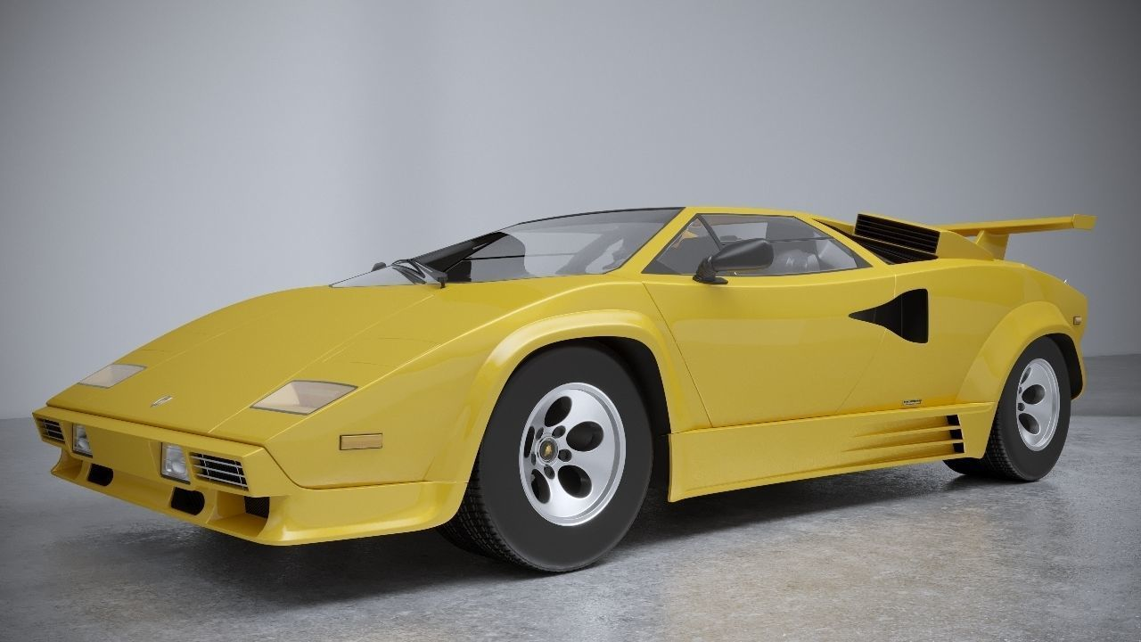 Lamborghini Countach Model