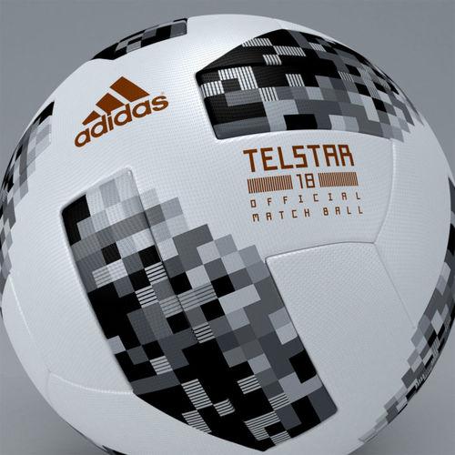 f6665e1a483 ... fifa 2018 official match ball worldcup telstar - russia 3d model max  obj mtl 3ds 3 ...