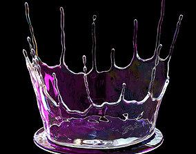 Abstract splash 3D