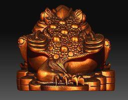 Golden frog 3D printable model