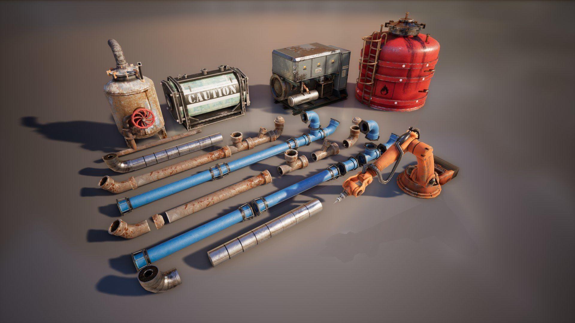 Industrial Props Set
