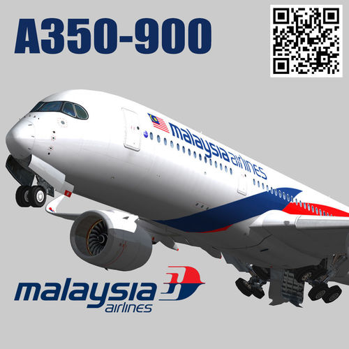 Airbus A350-900 XWB Malaysia Airlines livery 9M-MAB