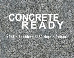 2K Concrete Ready 3D model