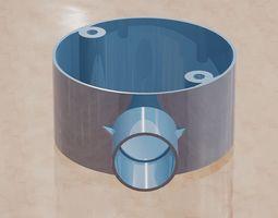 Stopend Conduit Box -20mm 3D printable model