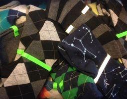 Customizable Sock Bones 3D Model