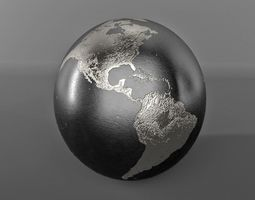 Metal Globe 3D