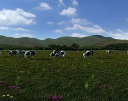 3D dairy farm